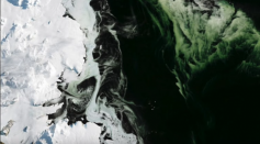 The mystery of Arctic's GREEN ice