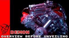 2018 Dodge Challenger SRT Demon Teaser Overview Before Unveiling
