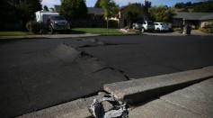 File photo of an earthquake