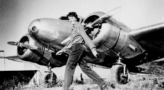 Amelia Earhart and Her Lockheed Electra Aircraft