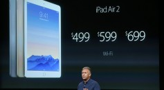 Apple Senior Vice President of Worldwide Marketing Phil Schiller introduces the new iPad Air 2
