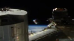 Alien spacecraft spotted on NASA live feed from ISS