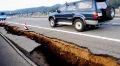 Earthquake Measuring 6.8 Rocks Japan