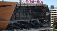 A general view shows T-Mobile Arena on April 5, 2016 in Las Vegas, Nevada