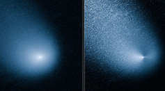The Indian Space Research Organization Released Images this Week of the Comet Siding Spring