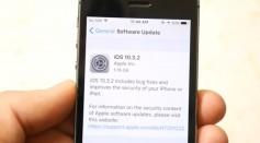 iPhone 5S iOS 10.3.2