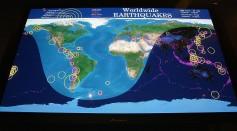 A Natural Calamity Map Locator Monitoring Earthquake Zones
