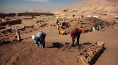Artifacts dug out in the Huaca Prieta temple included food remains, stone tools, ornate baskets and textiles.