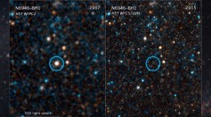 A dying star which is 22 light years away from Earth was witnessed to possibly give birth to a black hole.