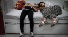 File photo of people sleeping