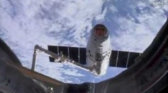 SpaceX Dragon Capsule Successfully Arrives At The ISS