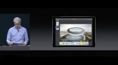 Apple demos iOS 11 on the new iPad Pro