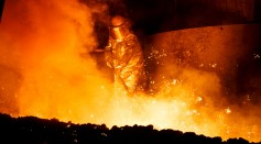 Wasted heat from the molten steel can now be converted into electricity.