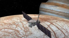 Artist Conception of the Europa Clipper Mission