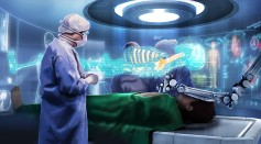 Augmented reality-assisted surgery in the operating room