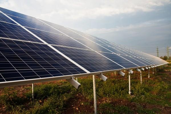Solar Panels Over Coal