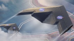 New airplane wing design by NASA and MIT engineers