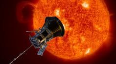Parker Solar Probe artist rendering