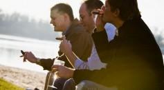 Men Smoking Cirag