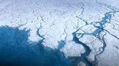 Greenland ice sheet during spring and summer