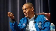 Interviewing an astronaut