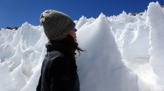 Snow Algae Flourish in High-Elevation Ice Spires, an Unlikely Oasis for Life