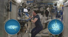 Biomanufacturing at the ISS