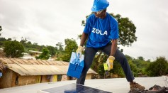 Installation of solar panel on rooftops