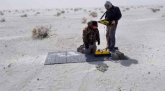 The Researchers at Work at White Sands Monument