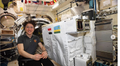 Koch in the International Space Station