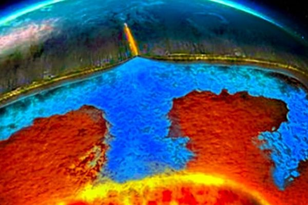 Large Amounts Of Water Detected In The Mantle Might Be A