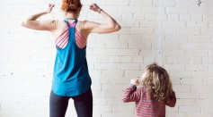 Parent and child workout