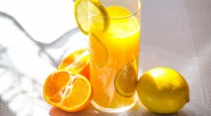 Typically, you get a lot of Vitamin C from strawberries, citrus fruits, tomatoes and green vegetables, among others