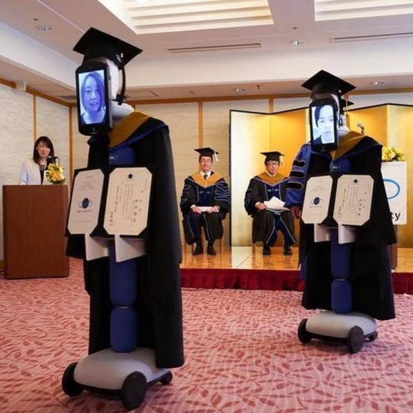 Japan did it again! Meet these Stand-In Robots in Japanese University Graduation Ceremony Amid the Coronavirus Pandemic