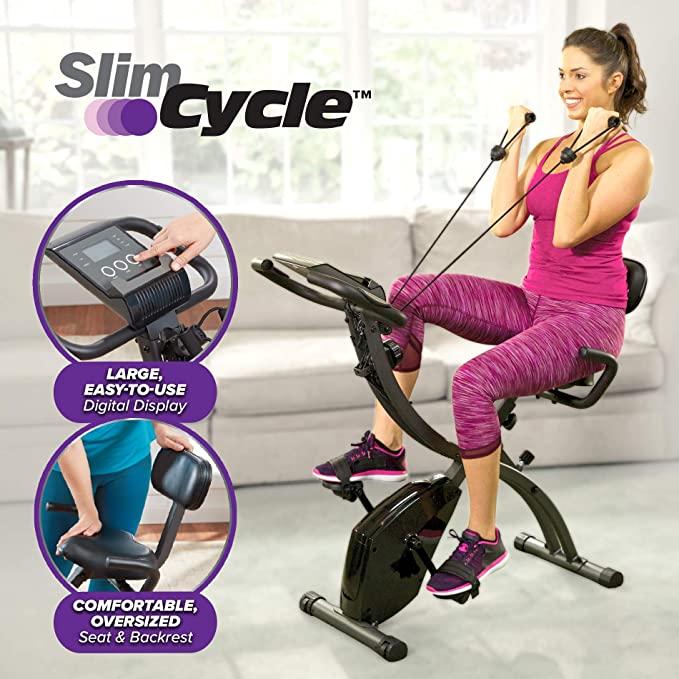 Sunny Fitness Magnetic Mini Stationary Hands Feet Exercise Bike SF-B0418 NEW