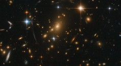 The Chilling Sound of a Sonified Hubble Deep Space Image of the Galactic Treasure Chest