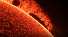 Phenomenal Images of the Sun's Surface Were Captured from Retired Photographer's Backyard