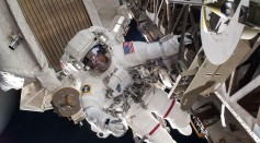 A Walk to Remember: NASA Astronauts Conducts Spacewalk to Replace Lithium Ion Batteries As Part of Power Upgrades in ISS