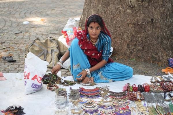 street vendor in India