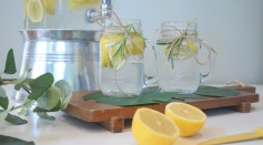 fruit infused water for the summer
