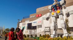 [Watch] Giant Gundam Robot Learns How to Walk