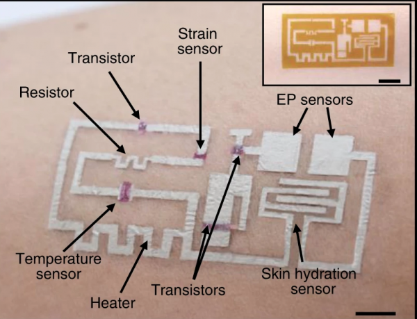 'Drawn-on-Skin' Electronics: Highly Advanced Wearable Monitors