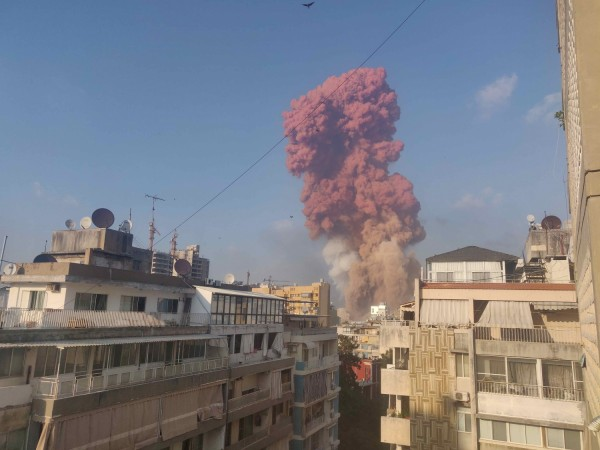 Beirut Explosion Caused by 2,700 Tonnes of Ammonium Nitrate