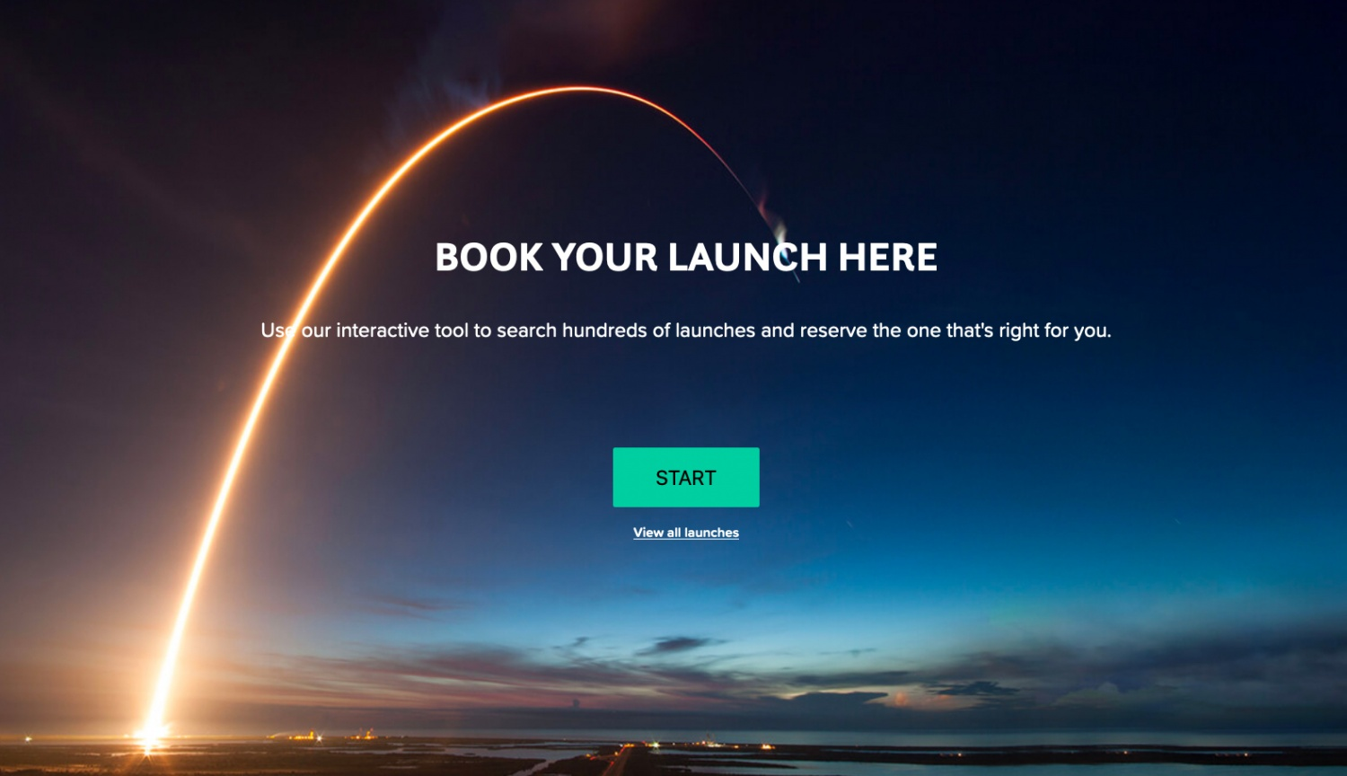 Sending Something to Space? Book Your Launch Now...