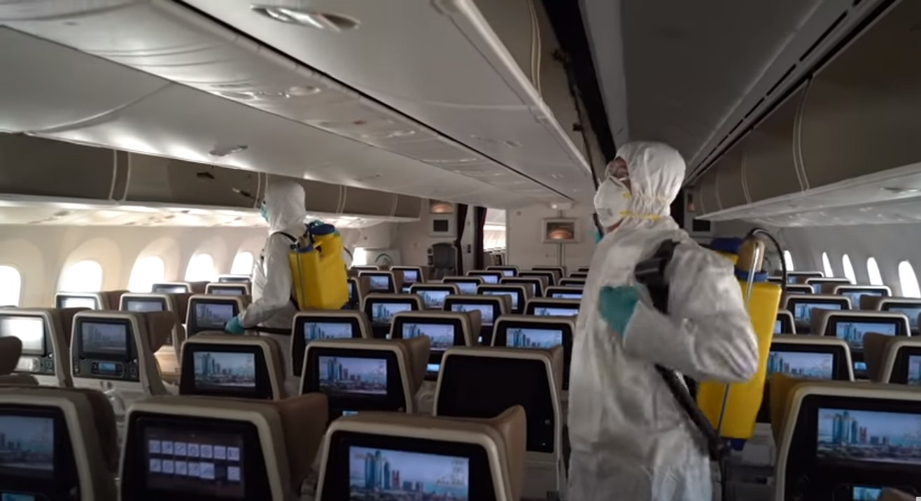 Coronavirus: How Do Airlines Disinfect Airplanes Today?