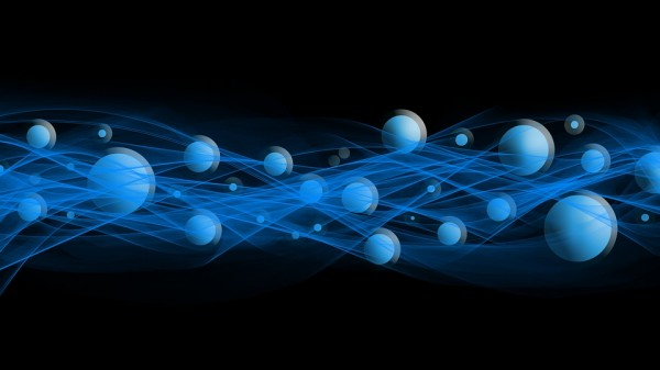 A Visual Representation of Particles in a Wave