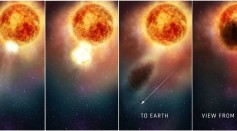 Betelgeuse's Dimming is Due to a Large Dust Cloud