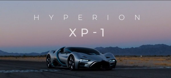 Hyperion Unveils Their New Futuristic Car Powered by Hydrogen Fuel Cell Technology