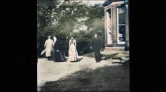 Roundhay Garden Scene Shot 132 Years Ago Remastered Using Artificial Intelligence