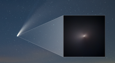 The Hubble Space Telescope Captures Comet NEOWISE at its Brightest